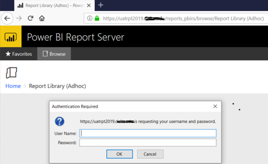 help with power BI report server with ADFS set up