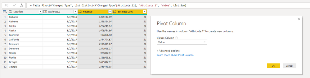 step 5 Calculation Between Two Columns - Rolling 24 Months - New Month Gets Added, Oldest Month Drops Off.PNG
