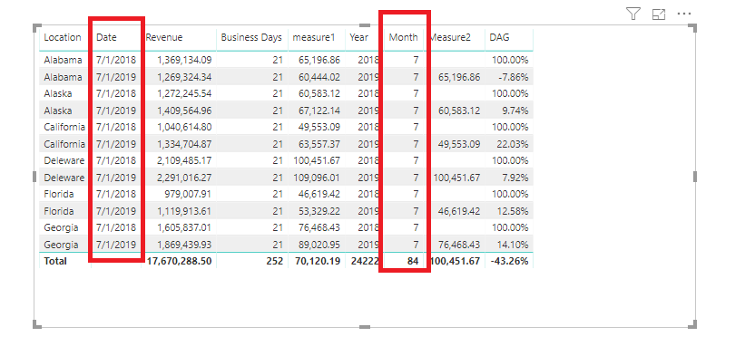 Calculation Between Two Columns - Rolling 24 Months - New Month Gets Added, Oldest Month Drops Off.PNG