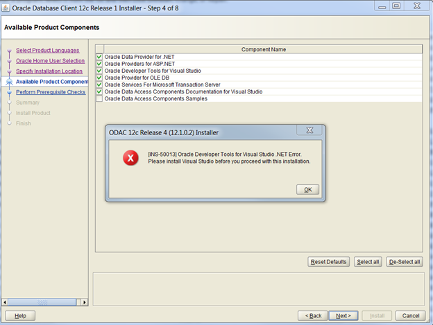 oracle odac download