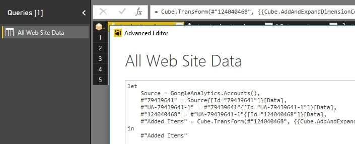 Google Analytics report in Power BI Desktop and automatic refresh when published online_1.jpg