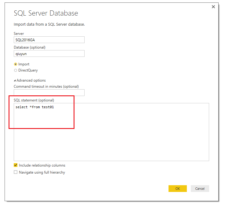 Solved: Importing specific date range using ODBC - Microsoft Power
