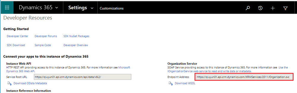 Scheduled) refresh Odata (oauth2) Dynamics CRM On