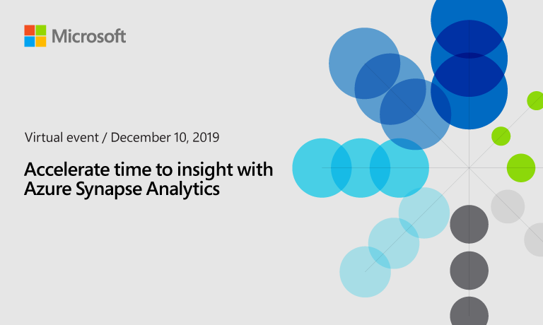 Analytics in Azure virtual event