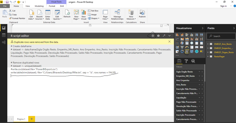 Solved: Problem when exporting data to excel - Microsoft