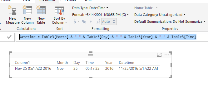 Solved: Converting from Text to Date - Microsoft Power BI Community