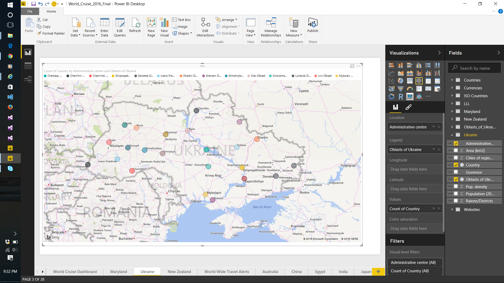 Solved: How to map latitude longitude - Microsoft Power BI Community