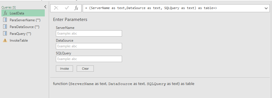 Solved: Changing the Power query SQL Server database setti