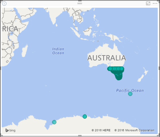 Australia Map Location.Australia Map Not Working Correctly Microsoft Power Bi Community