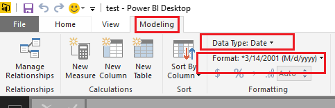 Solved: Visualization can't remove Time from Date
