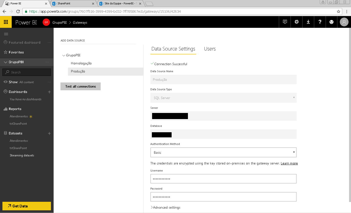 Solved: How to configure On-premises Gateway to SharePoint