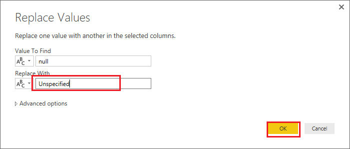 Solved: Replace NULL - Microsoft Power BI Community