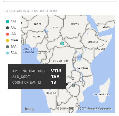 Map icaoiata airport codes microsoft power bi community the above images for reference when referring icao airport codes to the map vogo and vtui appear to be located in africa but the real locations are india gumiabroncs Image collections