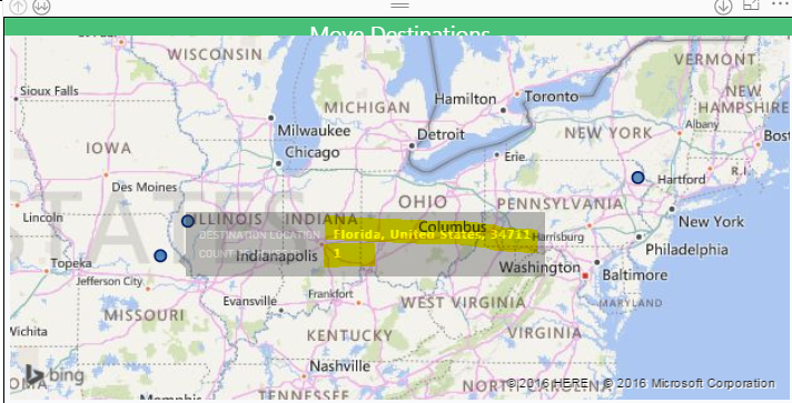 Solved: Incorrect map location - Microsoft Power BI Community on