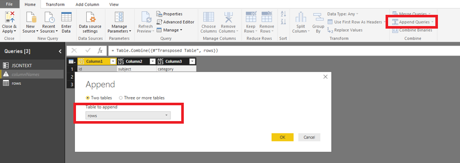 Solved: Multi-Dimensional Json file to Table - Microsoft Power BI