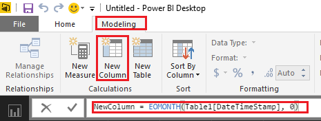 Solved: Copy column and set date to End of Month - Microsoft