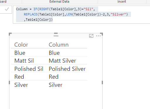 Solved: How to only Replace Values which end with a partic