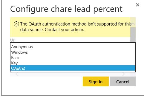 Solved: Power BI Gateway unable to connect to Excel workbo