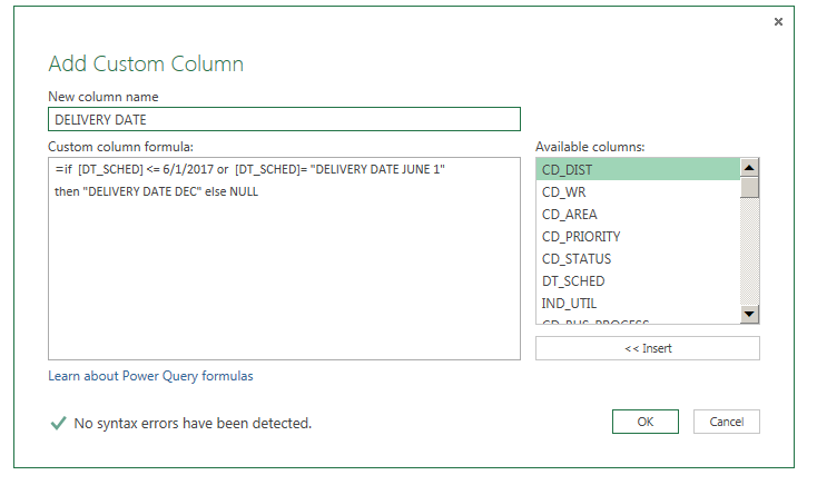 Solved: IF Statement using Power Query - Microsoft Power BI Community