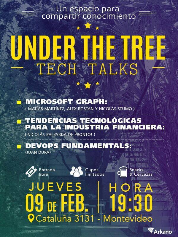 Under the Tree Tech Talks - 2nd Edition