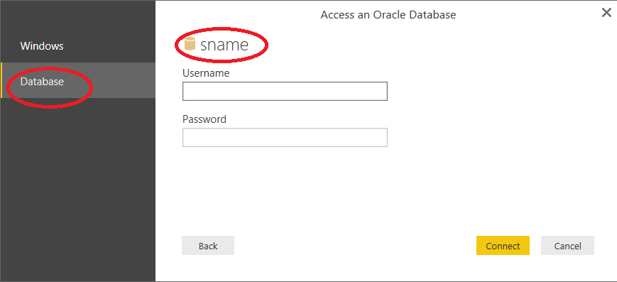 Not able to Connect with Oracle database - Microsoft Power