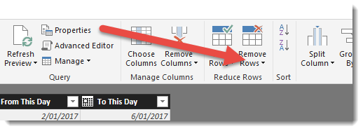 How to remove duplicate records - Microsoft Power BI Community