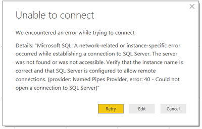 Solved: Lab 7 Exercise 1 - Can't connect to the Azure SQL