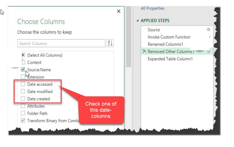 Solved: Importing Excel file every week from a folder and