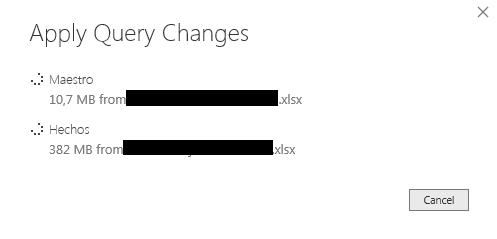 Solved: Slow refresh with small excel as source - Microsoft Power BI