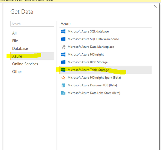 Solved: Azure REST API for VM performance - Microsoft Power BI Community