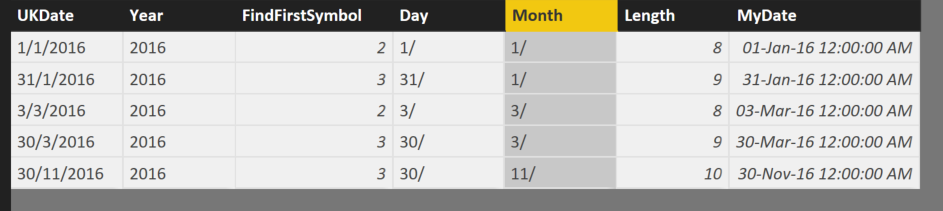 Solved: Date from month/day/year to day/month/year