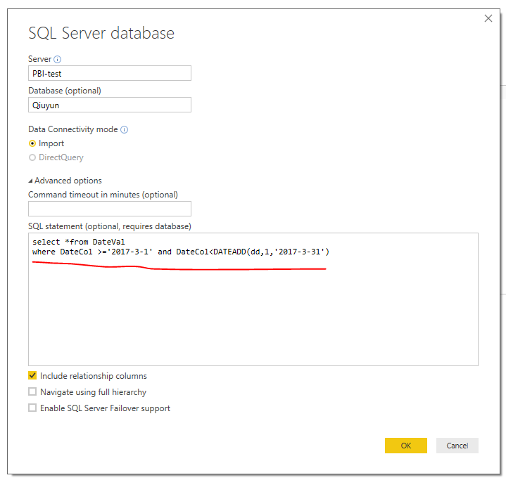 Sql server query for date range