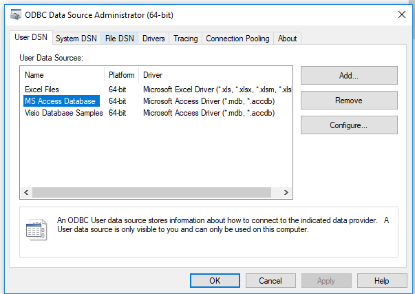 PowerBI shows only ODBC 32 bit driver instead of 6