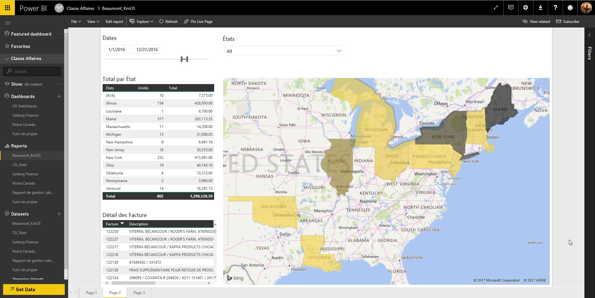 Bug with Filled Map with States values on Internet... - Microsoft ...