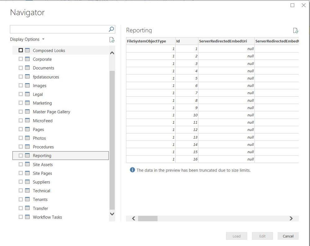 Solved: Can't connect to Sharepoint subsites using PowerBI - Page 2