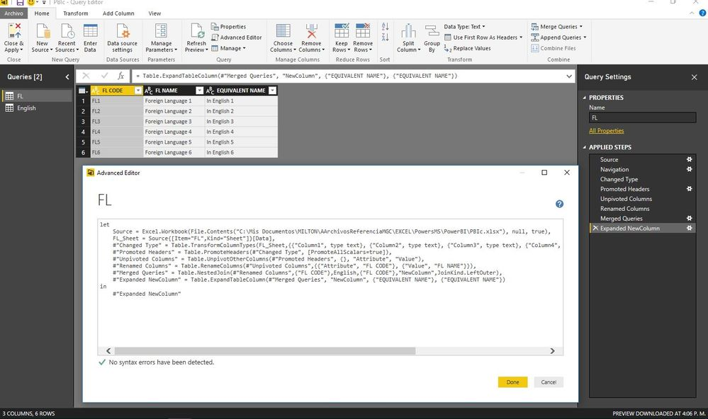 Solved: Power Query | Batch Replace String - Microsoft Power BI