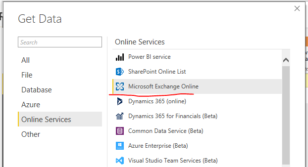 Solved: Power BI O365 data - Microsoft Power BI Community