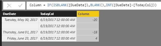 Solved Calculating Days Between A Date And Today Microsoft Power - Online invoice due date calculator