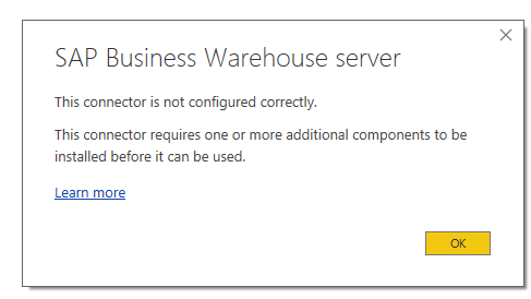 Solved: SAP BW Connection - Microsoft Power BI Community