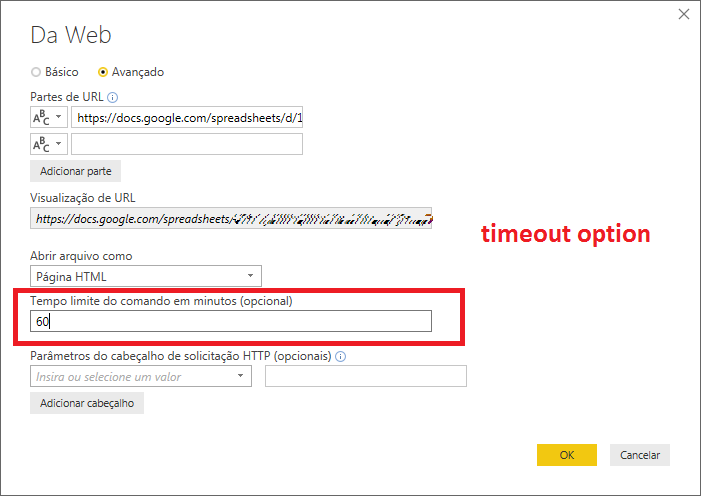 SAP BW timeout option, runtime errorcode 214746725