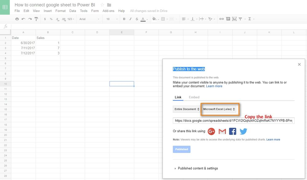 How to connect google sheet to Power BI_1.jpg