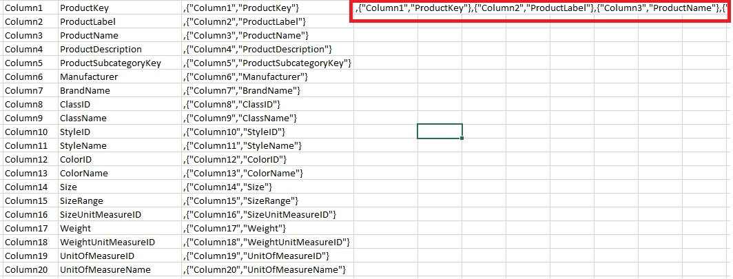 Changing column names in SQL database causes them