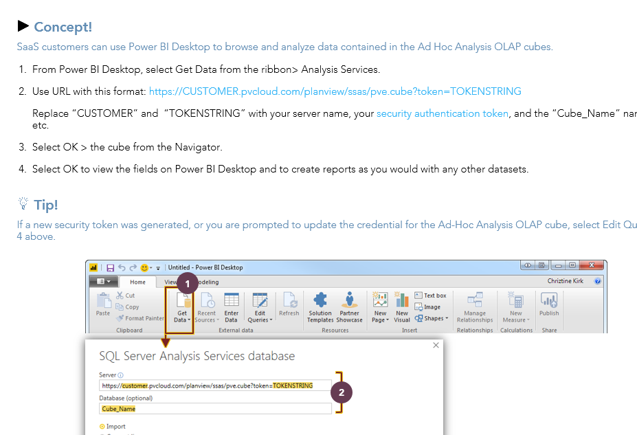 Solved: Planview Ad-hoc Analysis OLAP Cubes with Power Bi