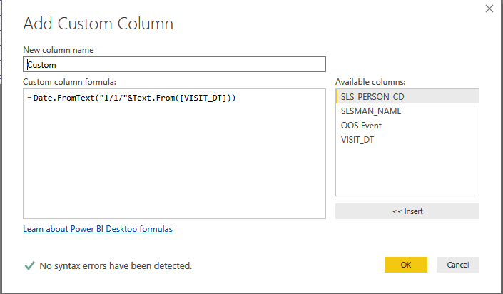 Solved: year to date in query editor - Microsoft Power BI