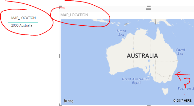 Full Map Of Australia.Solved Full Addresses Not Plotting On Map Microsoft Power Bi