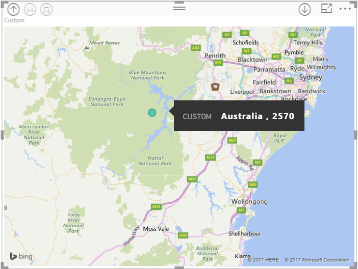 Problem with map and postal code - Microsoft Power BI Community