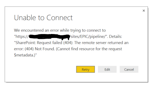 Solved: Getting data from on-prem sharepoint into Power BI