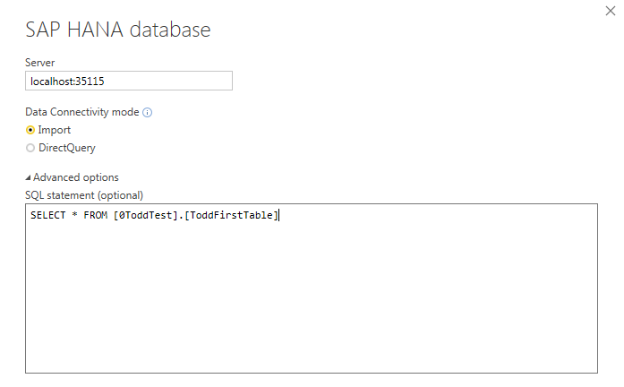 HANA Query Timeout Issue - Microsoft Power BI Community