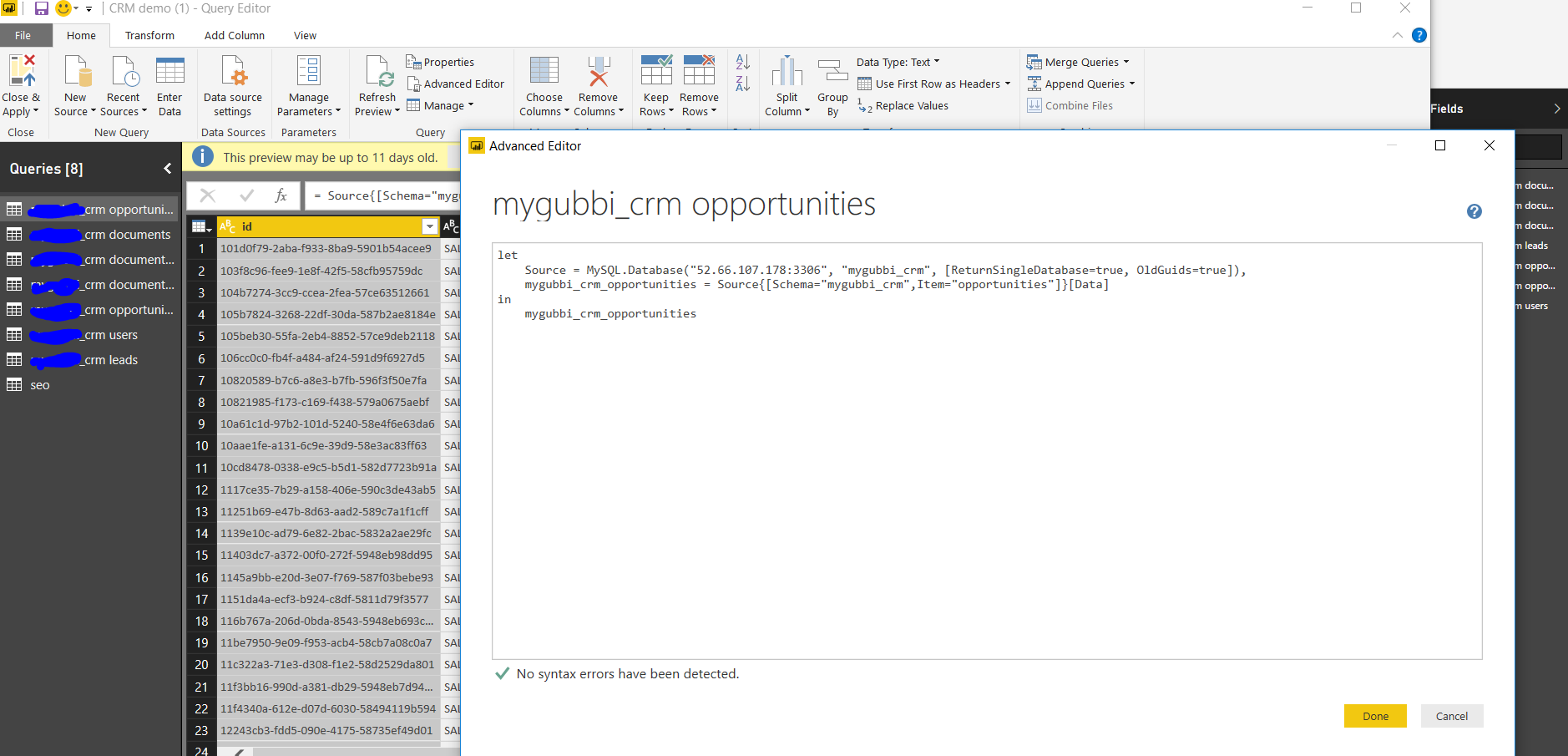 Solved how to write mysql queries in editor query to fec solved how to write mysql queries in editor query to fec microsoft power bi community baditri Image collections