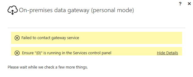 where is the on premises personal gateway installe microsoft